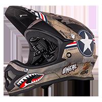 Backflip Fidlock DH Helmet RL2 WINGMAN Metal/White XS (53/54cm) - bike´n soul Shop