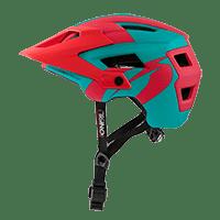 DEFENDER 2.0 Helmet SLIVER teal/red L/58-XL/61 - Pulsschlag Bike+Sport