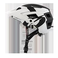 DEFENDER 2.0 Helmet SLIVER white/black L/58-XL/61 - Pulsschlag Bike+Sport