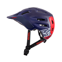 Defender Helmet FLAT dark blue/red S/56-M/59 - bike´n soul shop saalbach hinterglemm