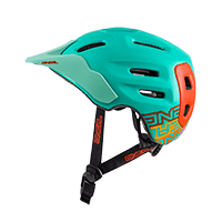 Defender Helmet FLAT mint/orange S/56-M/59 - bike´n soul shop saalbach hinterglemm