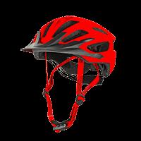 Q RL Helmet red XS/S/M (53-58cm) - bike´n soul shop saalbach hinterglemm