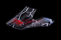Spare Visor ROCKHARD MX Helmet AC/DC black - bike´n soul shop saalbach hinterglemm