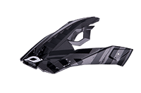 Spare Visor 810 Volt Helmet charcoal - bike´n soul shop saalbach hinterglemm