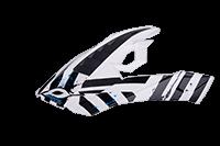 Spare Visor 810 Volt Helmet white - bike´n soul shop saalbach hinterglemm