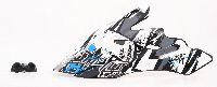 Spare Visor 311 Bolt Youth Helmet black/white - bike´n soul shop saalbach hinterglemm