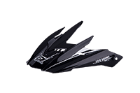 Spare Visor 511 Helmet black/white - bike´n soul shop saalbach hinterglemm