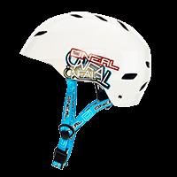 Dirt Lid Youth Helmet Junkie white L (51-52cm) - Pulsschlag Bike+Sport