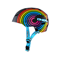 Dirt Lid Youth Helmet Rainbow Multi L (51-52cm) - Pulsschlag Bike+Sport