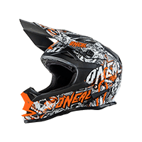 7Series Helmet Evo MENACE MATTE black/neon orange XS (53/54cm) - bike´n soul shop saalbach hinterglemm