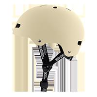 Dirt Lid ZF Helmet BONES beige L/58-XL/60 - Pulsschlag Bike+Sport