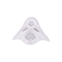 Spare Mouthpiece 709R Helmet plain white - bike´n soul shop saalbach hinterglemm