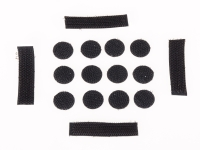 Spare Velcro Sticker Set for Dirt Lid Helmet - bike´n soul shop saalbach hinterglemm