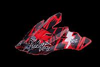 Spare Visor 3Series Helmet Bolt black/red (Adult + Youth) - bike´n soul shop saalbach hinterglemm