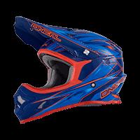 Spare Visor 3Series Helmet HURRICANE blue/red - bike´n soul Shop