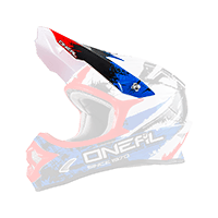 Spare Visor 3Series Helmet SHOCKER black/blue/red - bike´n soul shop saalbach hinterglemm