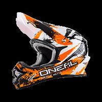 Spare Visor 3Series Helmet SHOCKER black/orange - bike´n soul shop saalbach hinterglemm