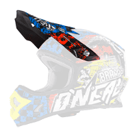 Spare Visor 3Series Helmet WILD black/multi - bike´n soul shop saalbach hinterglemm