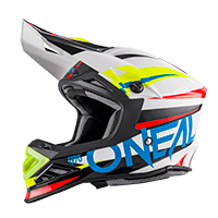 8Series Helmet AGGRESSOR white/blue XS (53/54 cm) - bike´n soul shop saalbach hinterglemm