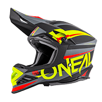 8Series Helmet AGGRESSOR black/hi-viz XS (53/54 cm) - bike´n soul shop saalbach hinterglemm