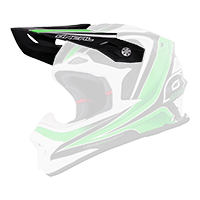 Spare Visor 8Series Helmet Race black/green - bike´n soul shop saalbach hinterglemm
