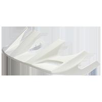 Spare Visor Orbiter Fidlock All mountain Helmet white - bike´n soul shop saalbach hinterglemm