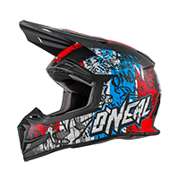 5Series Helmet VANDAL blue/red/white XS (53/54cm) - bike´n soul shop saalbach hinterglemm
