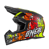 5Series Helmet VANDAL orange/neon yellow XS (53/54cm) - bike´n soul shop saalbach hinterglemm