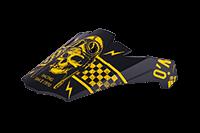 Spare Visor 5Series PISTONS Helmet black/yellow - bike´n soul Shop