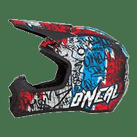 Spare Visor 5Series Vandal Helmet black/red/blue - bike´n soul shop saalbach hinterglemm