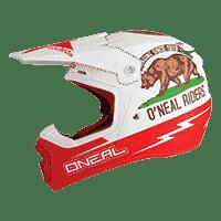 Spare Visor 5Series California Helmet white/red - bike´n soul shop saalbach hinterglemm