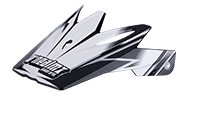 Spare Visor 9Series Challenger Helmet blk/wht - bike´n soul Shop