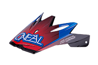 Spare Visor 9Series Race blk/red/blu - bike´n soul shop saalbach hinterglemm