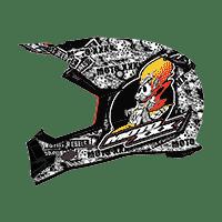 Spare Mouthpiece Moto XXX Helmet black - bike´n soul shop saalbach hinterglemm
