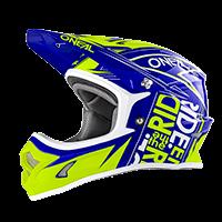 3Series Youth Helmet FUEL blue/hi-viz S (47/48cm) - bike´n soul Shop