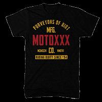 Moto XXX T-Shirts GASKET black L - Pulsschlag Bike+Sport
