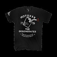 Moto XXX T-Shirts DEGENERATES black S - Pulsschlag Bike+Sport