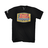 Moto XXX T-Shirts SPEED DEMON black S - bike´n soul Shop