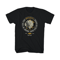 Moto XXX T-Shirts NATIVE black S - bike´n soul shop saalbach hinterglemm