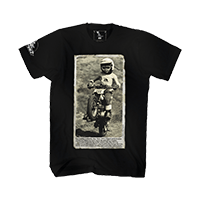 Moto XXX T-Shirts WHEELIE black S - bike´n soul Shop