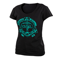Anchor Girls T-Shirt black L - bike´n soul shop saalbach hinterglemm