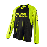 ELEMENT FR Long Sleeve Jersey BLOCKER black/hi-viz S - bike´n soul shop saalbach hinterglemm