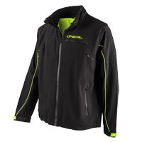 FREERIDER Soft Shell Jacket black/yellow L - Pulsschlag Bike+Sport
