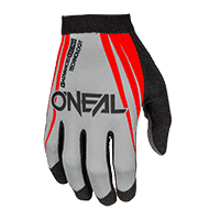AMX Glove BLOCKER red/gray S/8 - bike´n soul shop saalbach hinterglemm