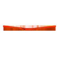 Flow Handle Bar FAT35.0 785mm 18mm Rise neon orange - Pulsschlag Bike+Sport