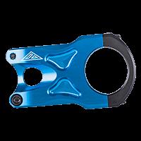 THE ROCK FAT35 Stem 34,9mm/45mm blue - Pulsschlag Bike+Sport