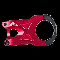 THE ROCK Stem 31,8 / 45mm red - Pulsschlag Bike+Sport