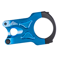 THE ROCK Stem 31,8 / 45mm blue - Pulsschlag Bike+Sport