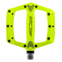 AMERICANA Pedal neon yellow - Pulsschlag Bike+Sport