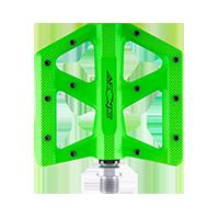 KAMIKAZE RL Pedal neon green - Pulsschlag Bike+Sport